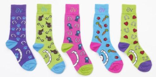 Ovation Child's Lucky Mid Calf Socks ERS Variation