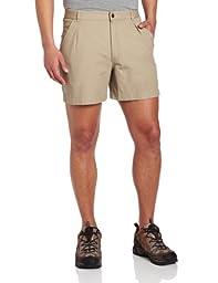 Royal Robbins Men\'s Classic Billy Goat Cotton Canvas Shorts,KHAKI ,36