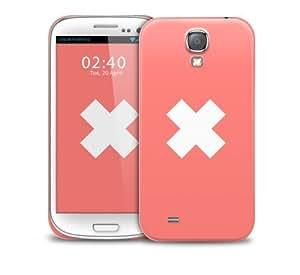 Peach Cross Samsung Galaxy S4 GS4 protective phone case wangjiang maoyi