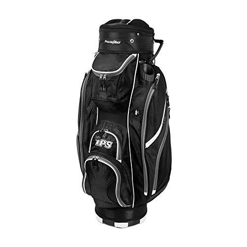 PowerBilt New Golf TPS 5400 Cart/Carry Bag 14-Way Top Black