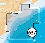 Navionics Platinum Plus 637P+ New Jersey to Delaware Marine Charts on SD/MSD