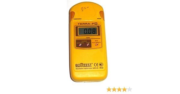 Radiation Dosimeter Detector Terra-p+ Geiger Counter Radiometr: Household Alarms And Detectors: Amazon.com: Industrial & Scientific