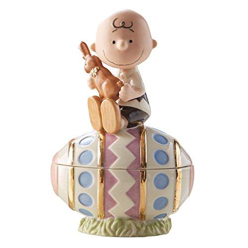 Lenox Charlie Brown Easter Egg Box
