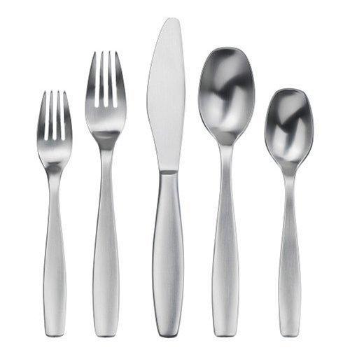 Gourmet Stoneware - Gourmet Settings Non Stop 20-Piece Flatware Set, Service for 4 by Gourmet Settings
