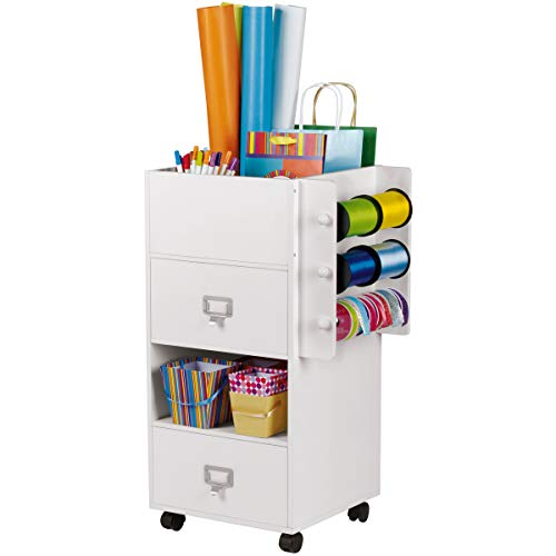 Craft Storage Rolling Cart with Drawers by Ashland