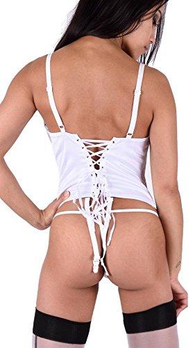 Bianco Bustino Bianco donna Bustino donna jowiha jowiha donna Bustino Bianco jowiha OX6q5xw1