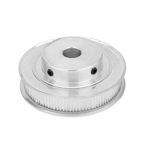 - uxcell Aluminum MXL 100 Teeth 12mm Bore Timing Belt Pulley Synchronous Wheel for 10mm Belt 3D Printer CNC