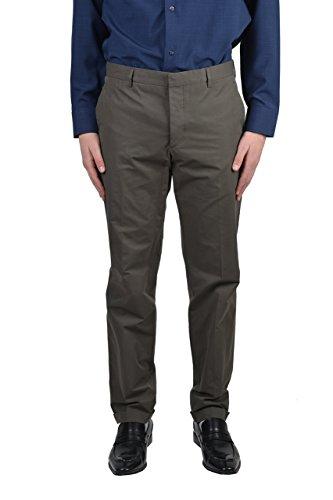 Prada Men's Gray Dress Pants US 34 IT 50