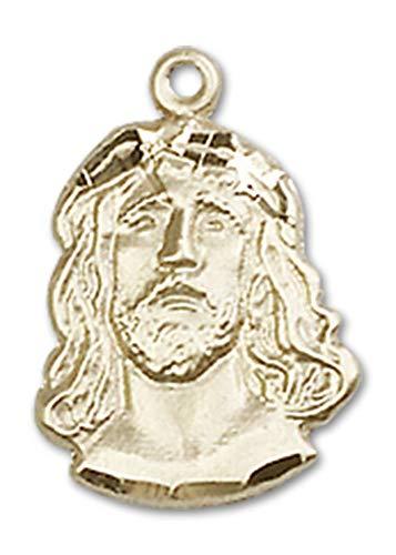 14kt Gold Ecce Homo Medal, Patron Saint 5/8 x 3/8 ()