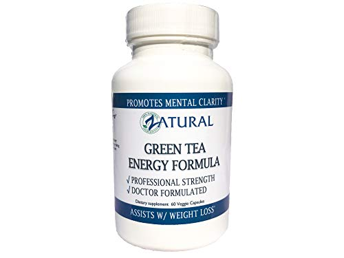 Introductory Price - Focused Energy with Green Tea-No Jitters, No Crash, Smooth Increase in Energy, Boosts Mental Function, Helps Maintain Focus 60 Capsules