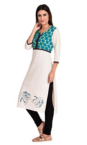 Indi-Dori-Cotton-Turquoise-Tie-Die-Printed-Yoke-Kurti