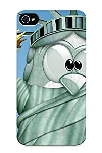New Diy Design Linux Liberty For Iphone 4/4s Cases Comfortable For Lovers And Friends For Christmas Gifts