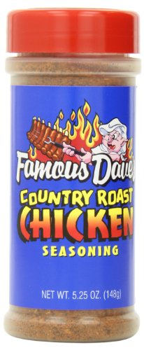 Famous Dave's Seasoning Country Roast Chicken, 5.25-Ounce (Pack of 6)