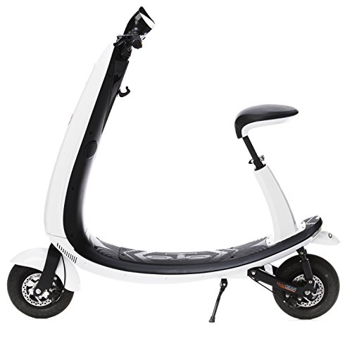 OjO Commuter Scooter for Adults – Eco-friendly, Electric & Smart – White
