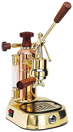 La Pavoni Lever Machine Europiccola Copper/Gold