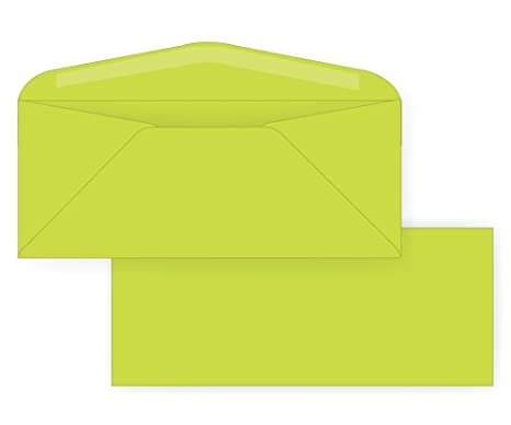 amazon com 10 regular envelope astrobright 24 terra green 4