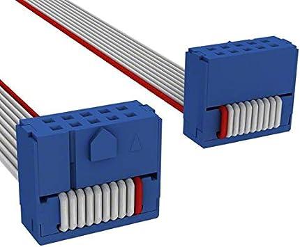 IDC CABLE CKR10S//AE10G//CKR10S Pack of 25 C3DDS-1018G