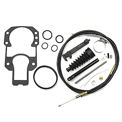 Quicksilver Lower Shift Cable Kit 865436A03 - for MerCruiser Stern Drives MC-I, R, MR, Alpha One and Alpha One Gen ()