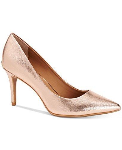 Calvin Klein Womens Gayle Pointed Toe Classic Pumps, Rose Quartz, Size 6.5