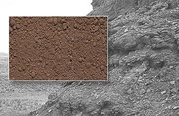 5kg Eisenoxid Farbpigmente Braun Beton Einfarben Farbe Beton