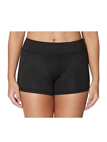 "Athmile 3"" Yoga Shorts For Women, Women's Power Flex Workout Women Yoga Shorts With Hidden Pocket"
