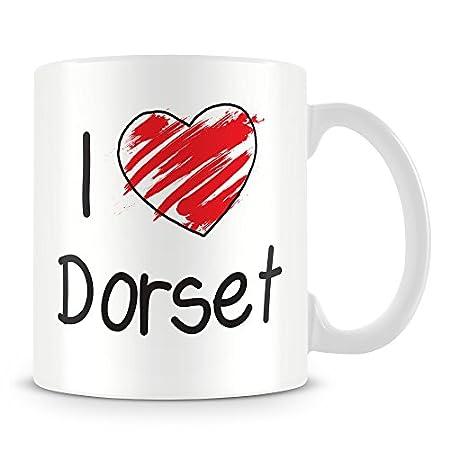 I Love Dorset Personalised Mug – Add Photo – Customised Cup Gift 41c5 2BLBgjxL