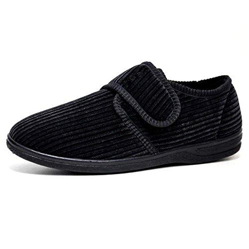 Pantofole Uomo Grey Uomo Impressionz Black Black Impressionz Grey Pantofole Pantofole Uomo Impressionz zIxUH6x