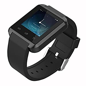 Colofan U8 Touch Screen Bluetooth Smart Watch with Camera - Black