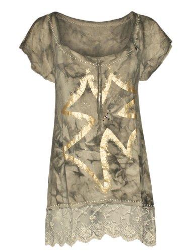 68bbf693f5 Cross Diseñador Top amp  Mujer Glory Shirt Camisetas Merucy twqatZr