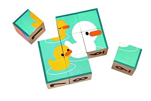 (PlanToys puzzle cube blocks)