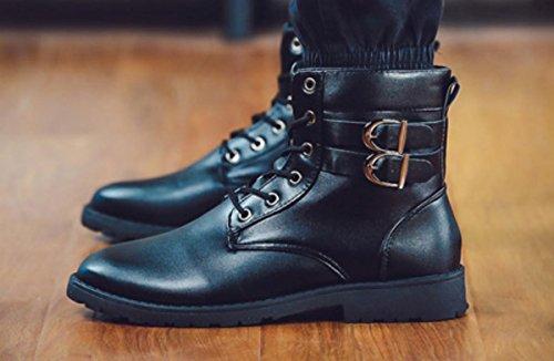Automne Chaussures avec avec avec bottes HYLM chaussures tête extérieure hiver ebc15f