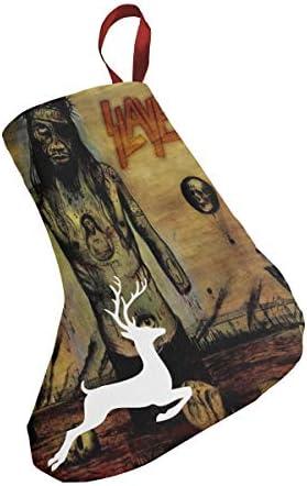 クリスマスの日の靴下 (ソックス3個)クリスマスデコレーションソックス Slayer クリスマス、ハロウィン 家庭用、ショッピングモール用、お祝いの雰囲気を加える 人気を高める、販売、プロモーション、年次式