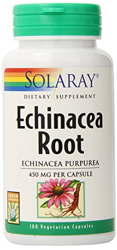 Cheap Solaray Echinacea Purpurea Root Capsules, 450 mg, 100 Count