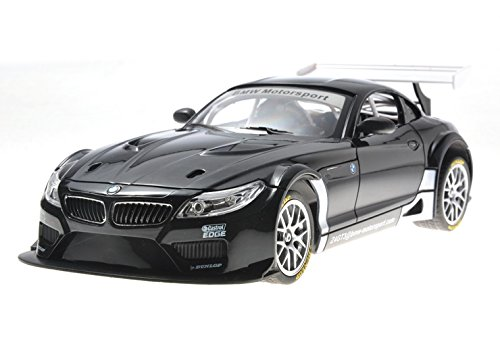 1/18 BMW Z4 GT3 Radio Remote Control Car Authentic Body Styling with Lights (Black)