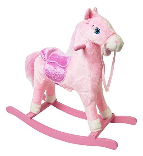 (Beyond Shop New Rocking Horse Pony Plush Animal with Sound 29