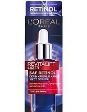 L'Oréal Paris Revitalift Lazer Saf Retinol Gece Serumu 1 Paket (1 x 30 ml)