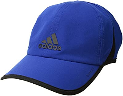 adidas Men's Superlite Relaxed Performance Cap, Hi-Res Red/Black, One Size from Agron Hats & Accessories