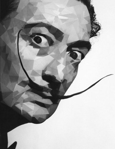 (El Salvador Dali Notebook Large Size 8.5 x 11 Ruled 150 Pages)