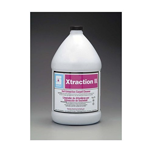 Spartan Contempo Xtraction II Carpet Cleaner, Gallons, 4 Per Case ()