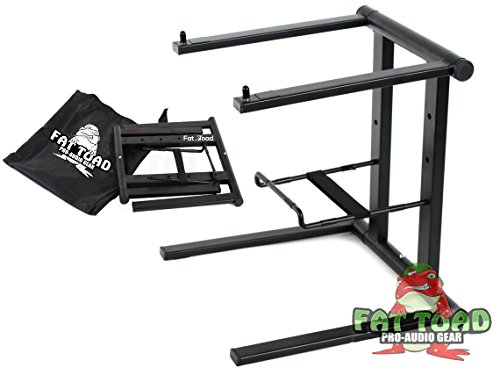 dj laptop stand with clamps - 8