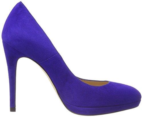 LK BENNETT Escarpins Femme ultra Blue à Bleu New Blu Plateforme Sledge rUCxwrqp