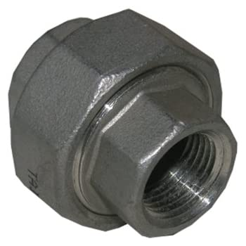 LASCO 32-2907 1//2-Inch Female Pipe Thread Type 304 Stainless Steel Union