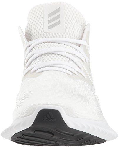 adidas Men's Alphabounce Beyond Running Shoe white/Silver Metallic/White, 7.5 M US by adidas (Image #4)
