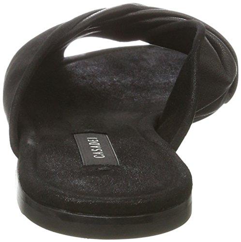Casadei Women's 1m332 Mules Black (Nero 000) 5Nj9Ox
