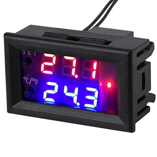 DC 12V All-Purpose Digital Temperature Controller Thermostat with Sensor