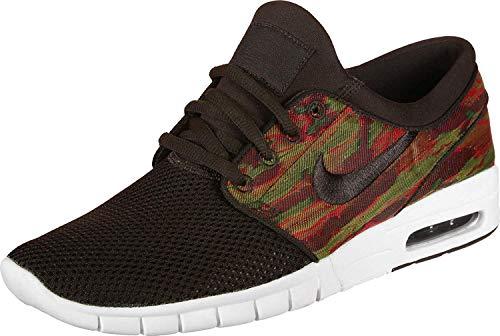 Sb Nike Brown - Nike Men's SB Stefan Janoski Max Skateboarding Shoes (Velvet Brown/Velvet Brown Sail, 8 M US)