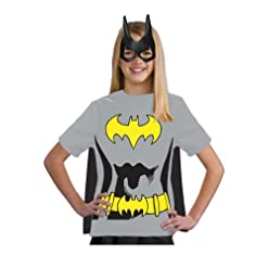 Justice League Child's Batgirl 100% Cotton T-Shirt – Small