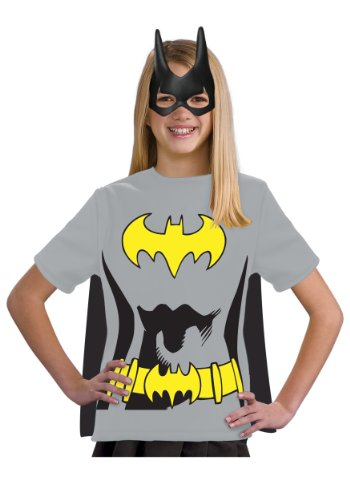 - 41c53jDLqKL - Justice League Child's Batgirl 100% Cotton T-Shirt
