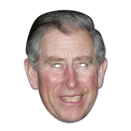 (Forum Novelties Prince Charles Celebrity Face Mask, Multicolor)