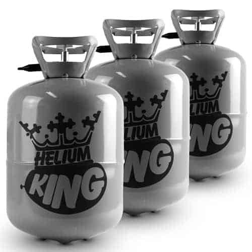 disfrutando de sus compras Bombona de helio - para 90 globos, globos, globos, 3 x Gas cilindros súper ahorrador Kit  Para tu estilo de juego a los precios más baratos.